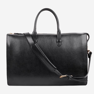 Triumph Briefcase Black Front with Strap