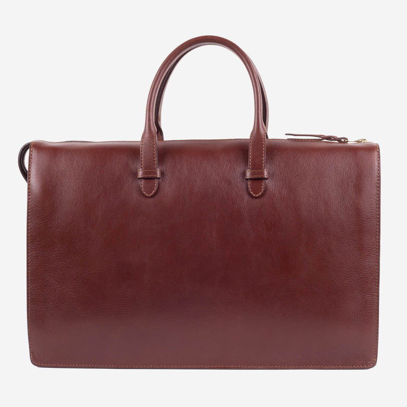 Triumph Briefcase Chestnut Slanted