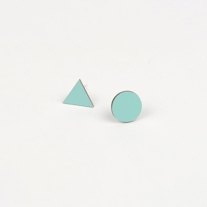 Mix Match Earrings Mint