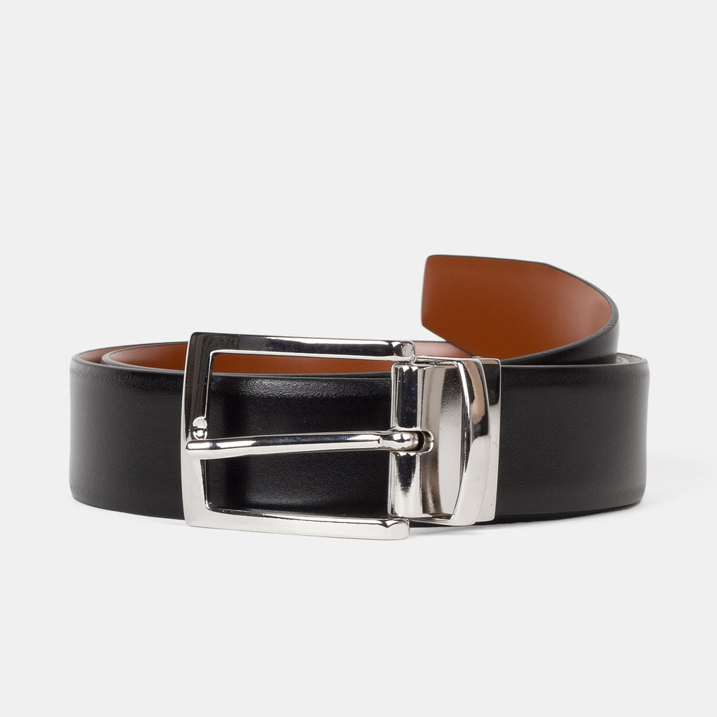 Anderson's Reversible Leather Belt Black Front