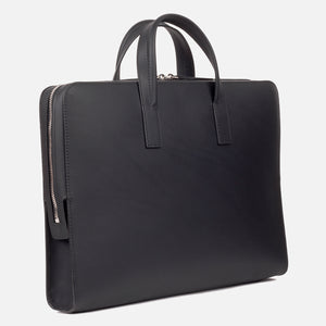 Bonastre Briefcase Black Slanted