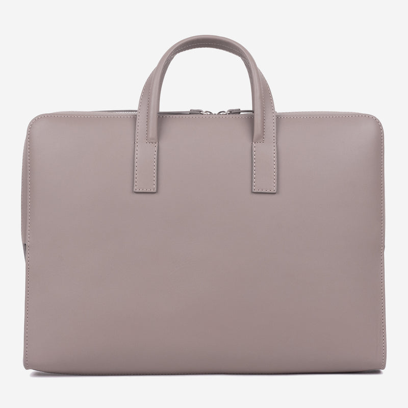 Bonastre Briefcase Grey Front