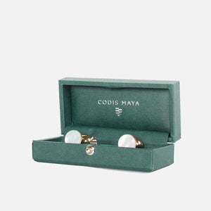Codis Maya Gold Bow Mother of Pearl with Box