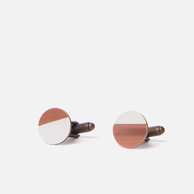 Tom Pigeon Form Circle Copper/Grey Front