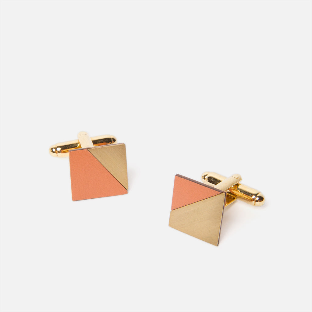 Tom Pigeon Form Square Brass/Tan Top
