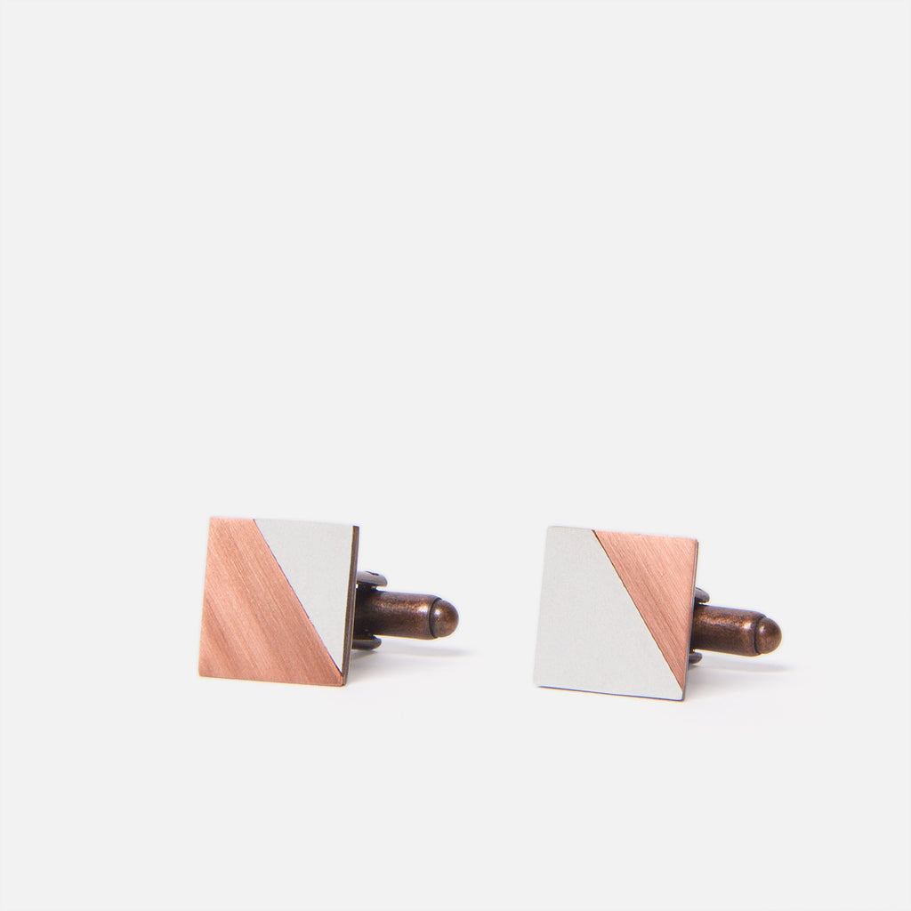 Tom Pigeon Form Square Copper/Grey Front