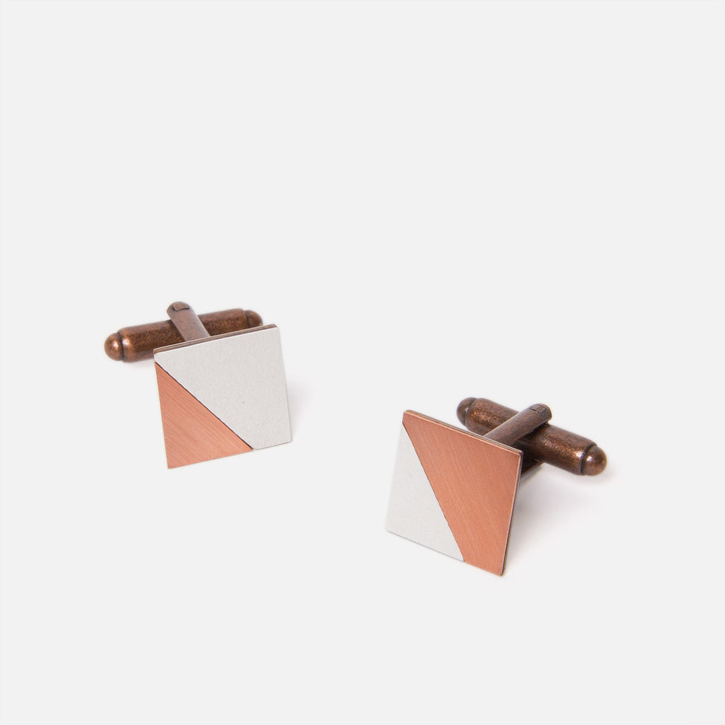 Tom Pigeon Form Square Copper/Grey Top