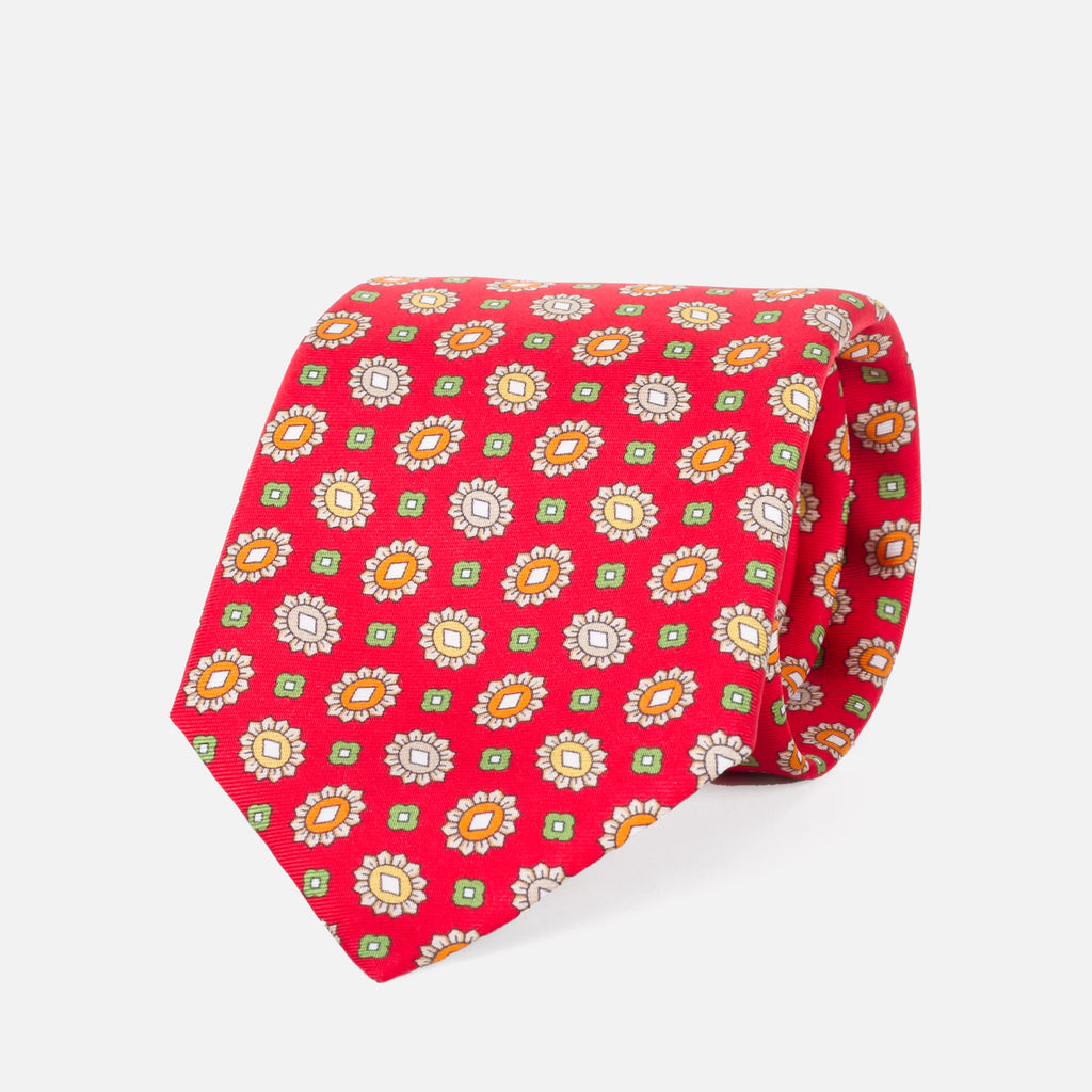 Fumagalli Gianni Tie Red 8cm