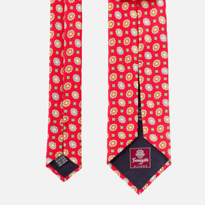Fumagalli Gianni Tie Red 8cm Reverse