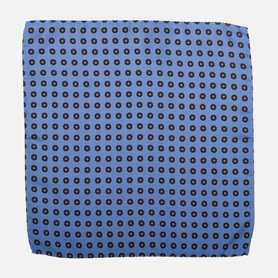 Fumagalli Pocket Square Dolce Blue Front