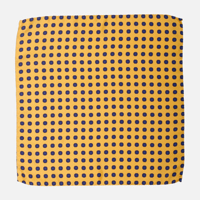 Fumagalli Pocket Square Dolce Yellow Front