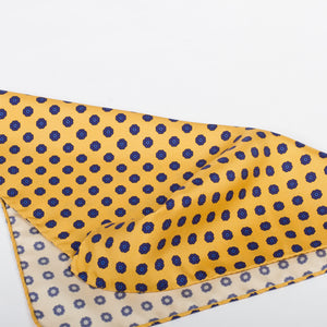 Fumagalli Pocket Square Dolce Yellow Reverse