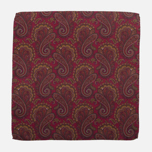 Fumagalli Pocket Square Filippi Red Front
