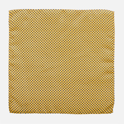 Fumagalli Pocket Square Rosso Yellow Front