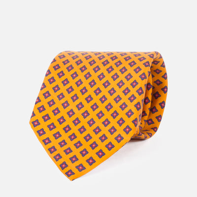 Fumagalli Tucci Tie Orange 8cm