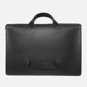 Le Feuillet Briefcase Black Lateral Carry Handle