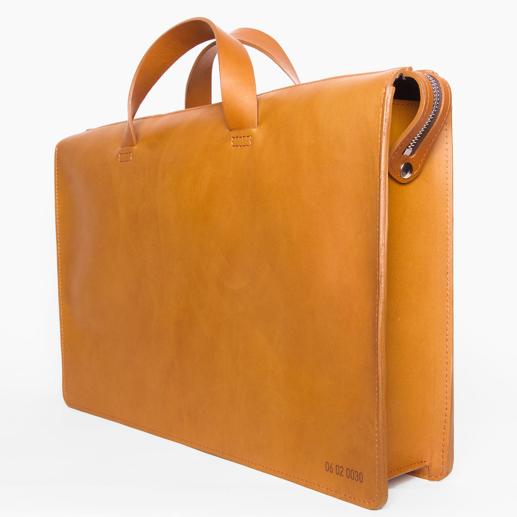 Briefcase Cognac