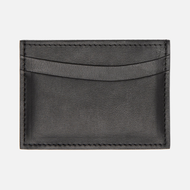 Le Feuillet Porte Carte Black Thumbhole With Card