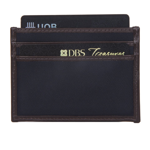 M/S Cardholder Dark Brown/Navy