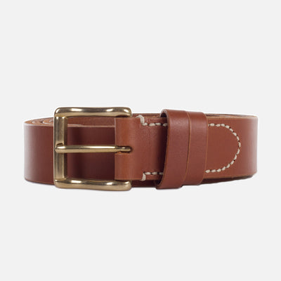 Mismo Classic Belt Cuoio Front