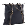 M/S Daypack Navy/Dark Brown