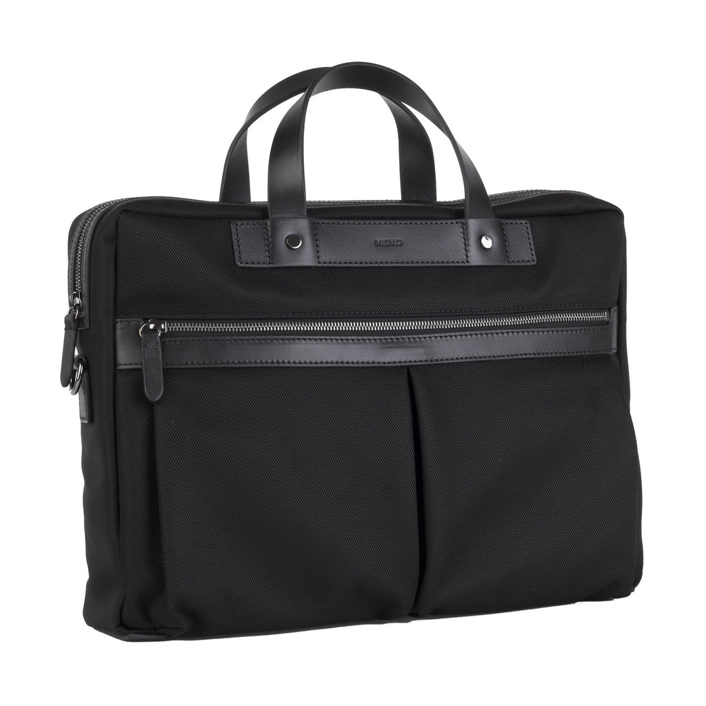 Mismo M/S Office Black/Black Front Slanted