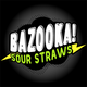 Bazooka Sour Straws Ice E Liquid
