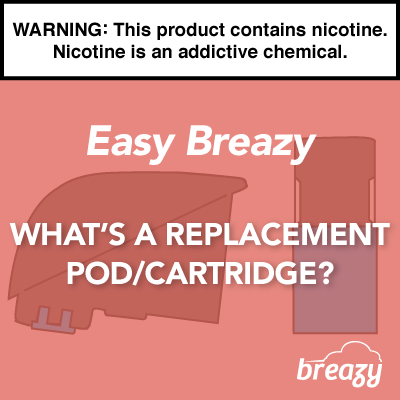 What's a Replacement Pod/Cartridge?