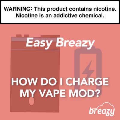 How Do I Charge My Vape?