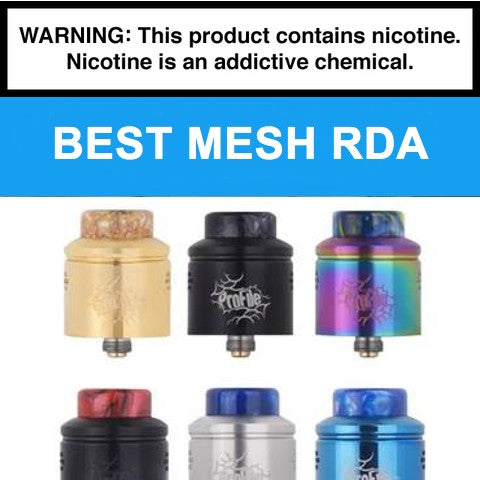 Best Mesh RDA for Flavor & Clouds