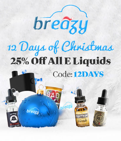 Breazy.com 12 Days Of Christmas Sale