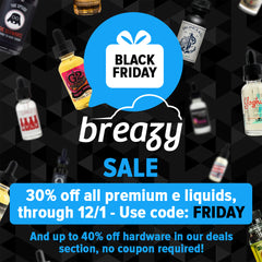 Breazy.com Black Friday Sale 2015