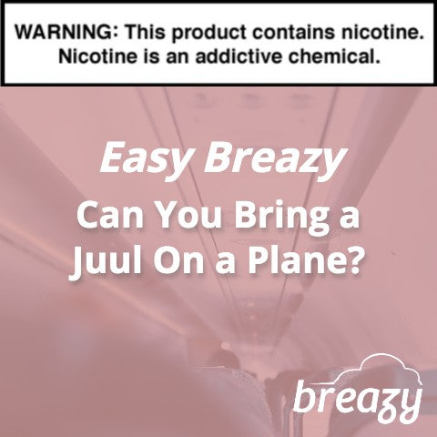 can you bring a juul on a plane