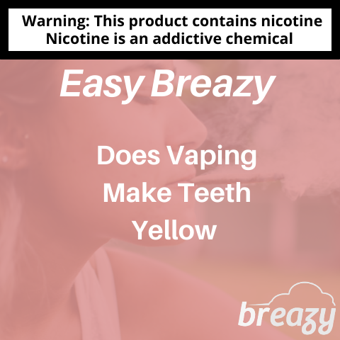 does vaping make your teeth