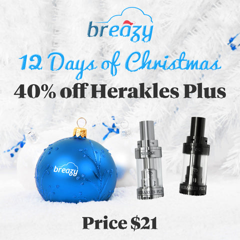 Breazy.com 12 Days Of Christmas Sale Day 10 - Herakles Plus $21