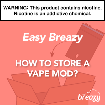 How to Store a Mod?