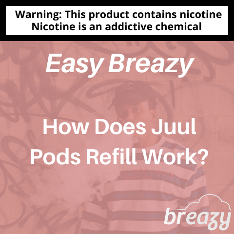 How Does Juul Pods Refill Work