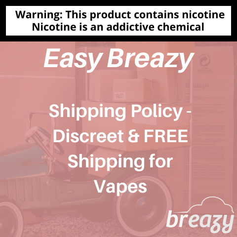 Discreet & FREE Shipping for Vapes