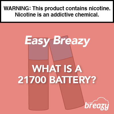 What is A 21700 High Amp Vape Compatible Battery?