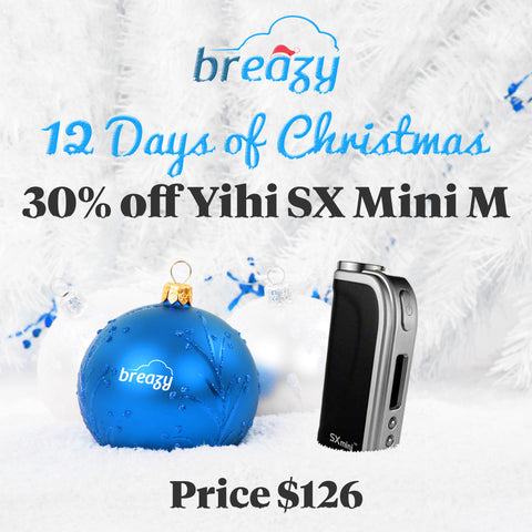Breazy.com 12 Days Of Christmas Sale Day 12 - Yihi Sx Mini M Class $126