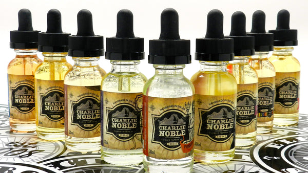 Charlie Noble E Liquid at Breazy