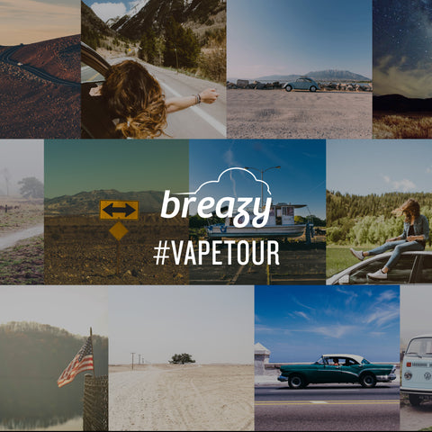 Vape Across The States - Breazy