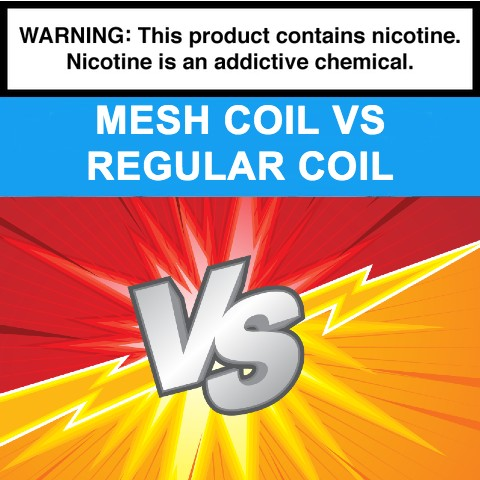 mesh coil vs regular coil