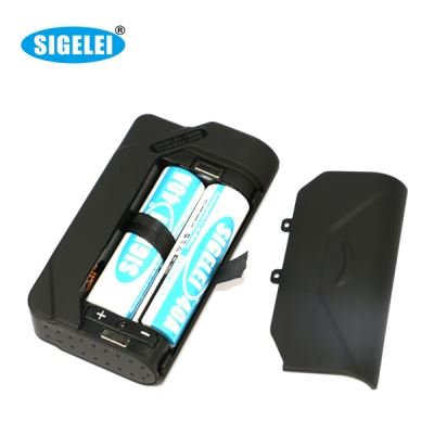 Sigelei 150 watt TC box mod battery bay