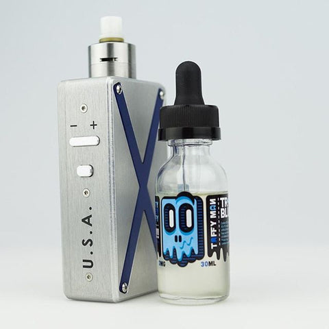tr4blue taffy man e liquid