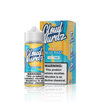 Peach Blue Razz - Cloud Nurdz E Liquid