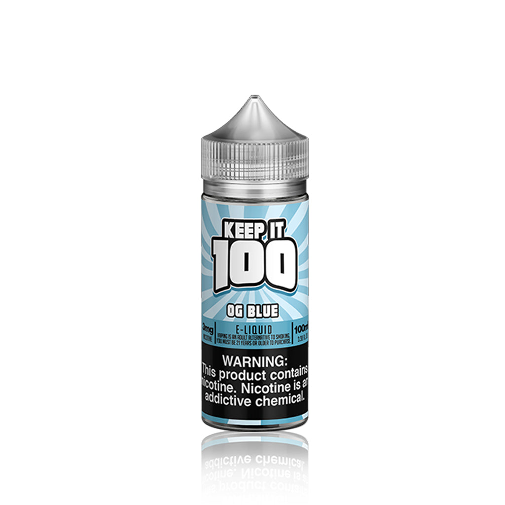 OG Blue (Blue Slushie) - Keep It 100 E Liquid