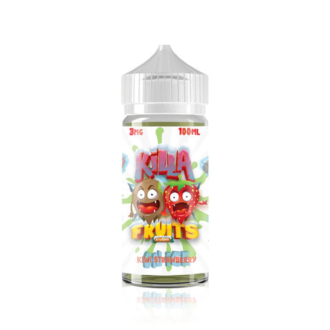 Kiwi Strawberry - Killa Fruits on Ice E Liquid