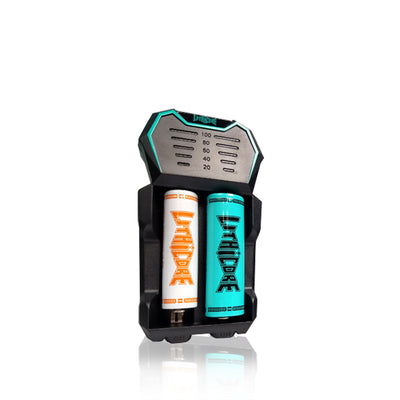 Lithicore Tech Edge 2 Bay Battery Charger