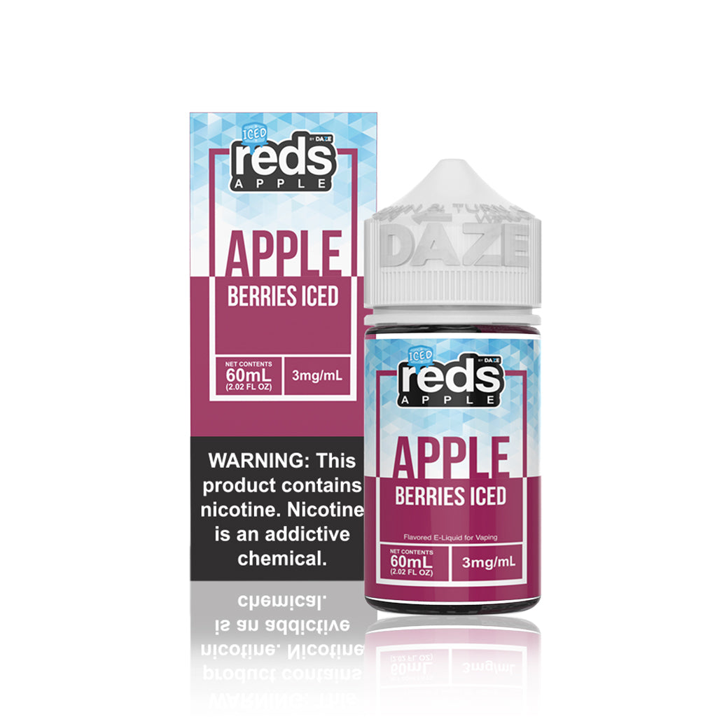 Berries Reds Apple Iced E Juice - Vape 7 Daze